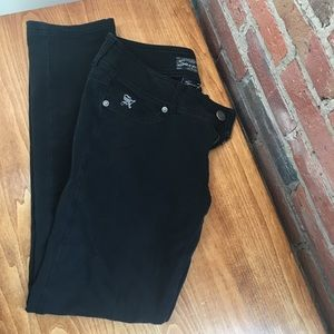 EUC 7 for All Mankind Black Skinny Jeans/Jeggings